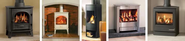 Gas Stoves - H.G. Matthews Ltd - Wood Burning Stoves Herts, Wood Burning Stoves