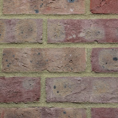 Dark Multi brick in a wall setting