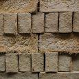 Flat view of stacked strockette blocks