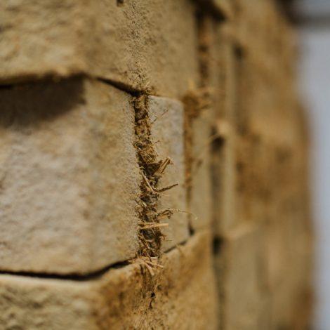 Focus on near corner of strockette blocks