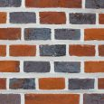 Jacobean style woodfired brickwork with a over hand struck profile - front view